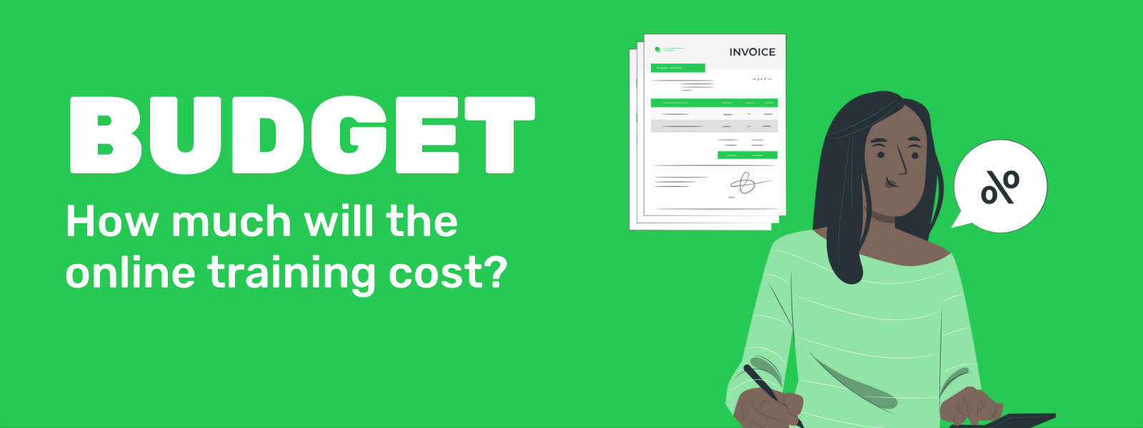 How much will the online training cost?